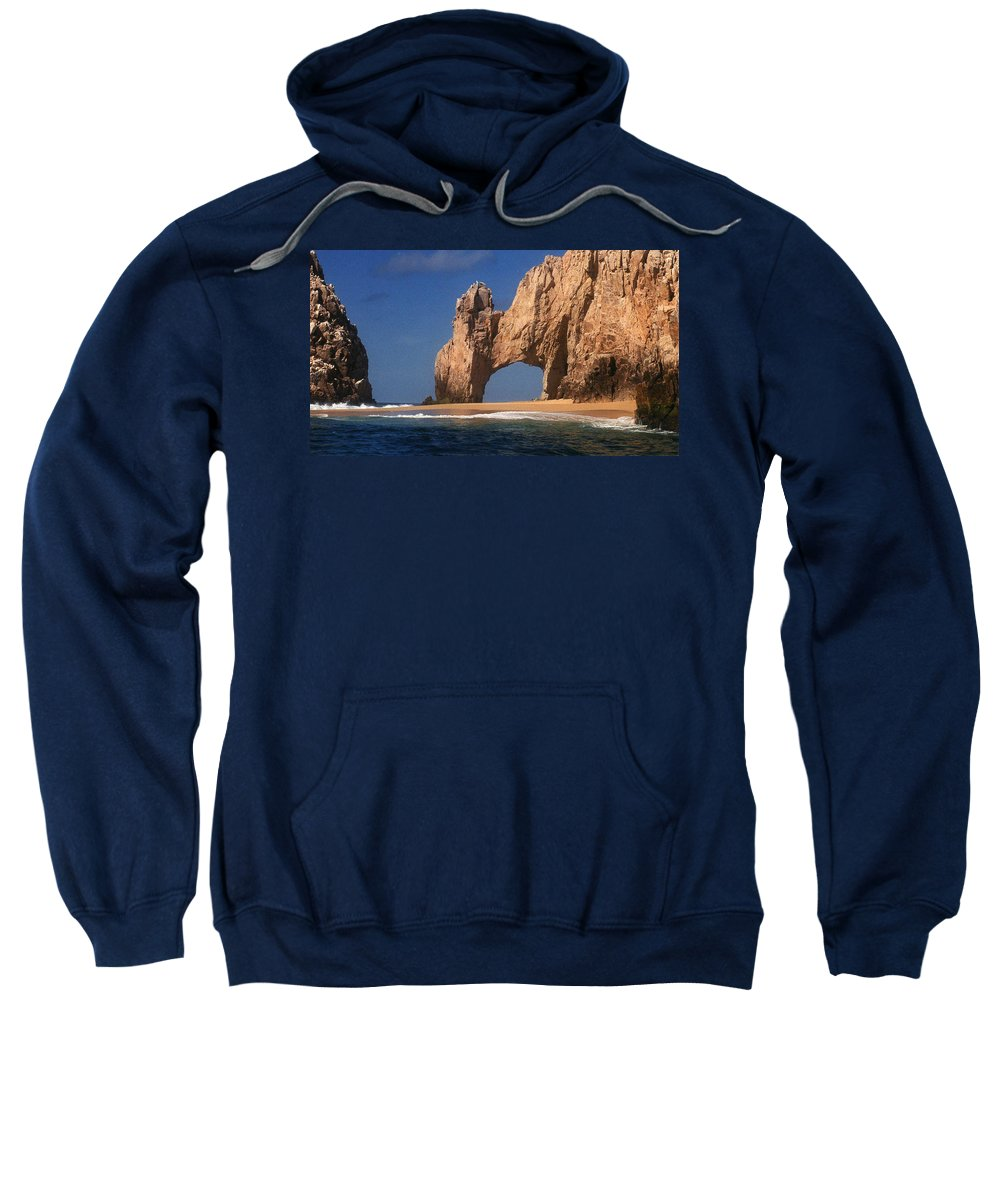 Arch Sweatshirt featuring the photograph The Arch by Marna Edwards Flavell
