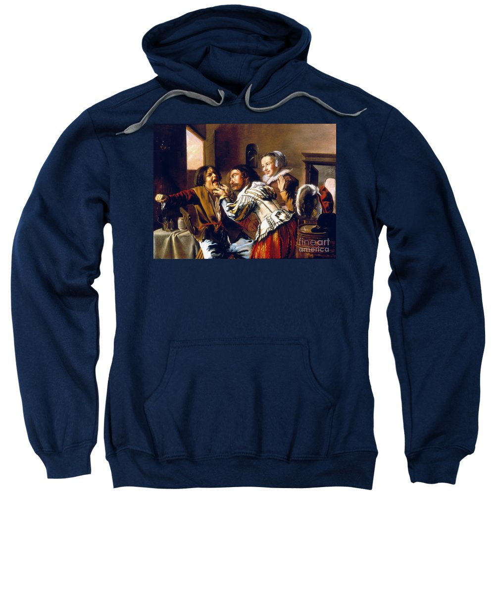 1629 Sweatshirt featuring the photograph The Dentist, 1629 by Granger
