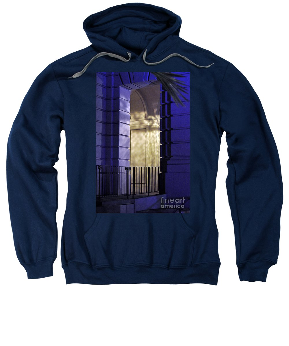 Clay Sweatshirt featuring the photograph The Door by Clayton Bruster