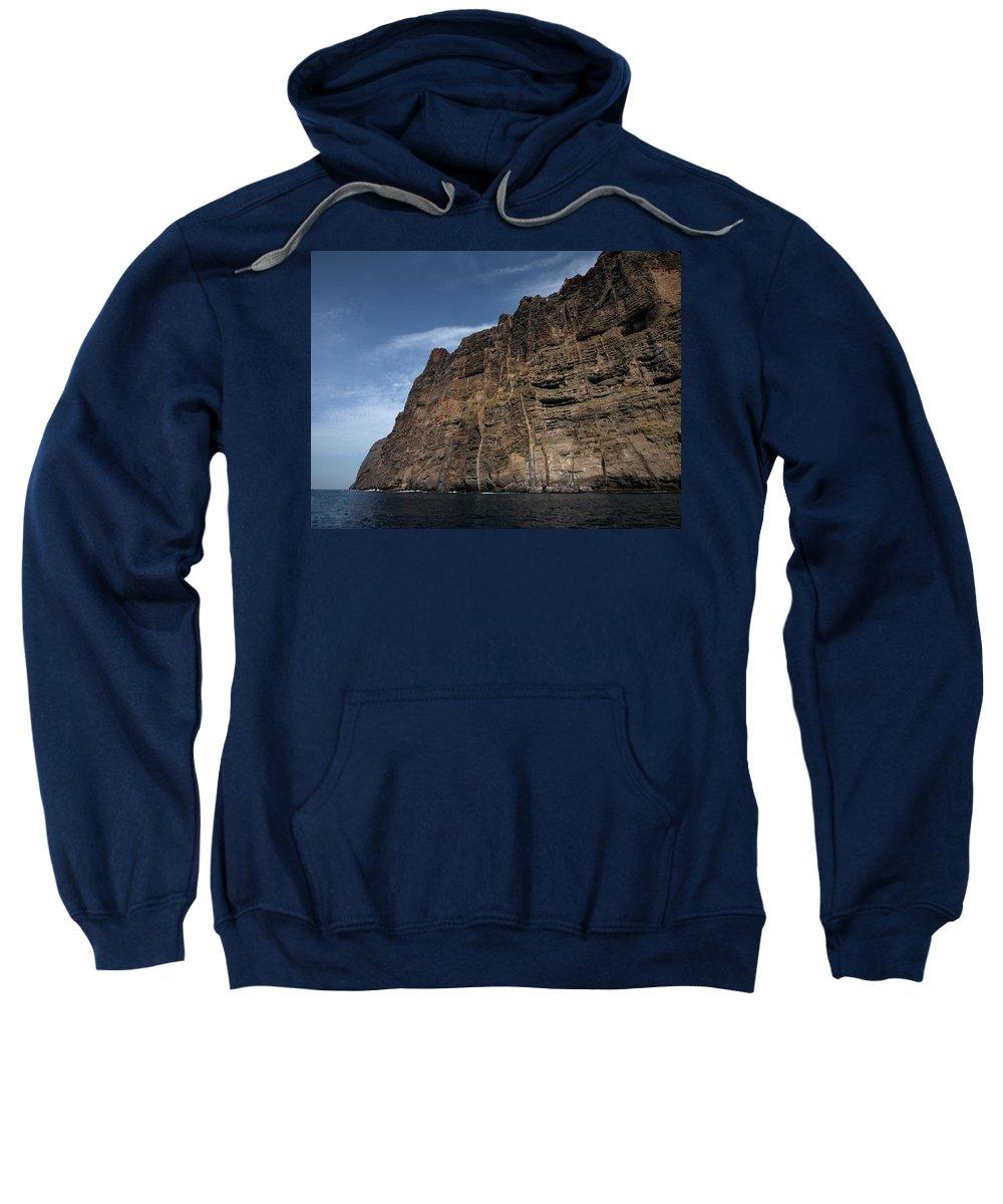 Valasretki Sweatshirt featuring the photograph The Rocks Of Los Gigantes 1 by Jouko Lehto