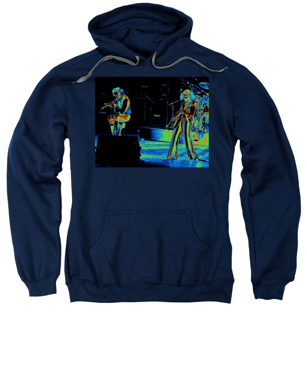 Jethro Tull Sweatshirt featuring the photograph Thick As An Electric Brick by Ben Upham
