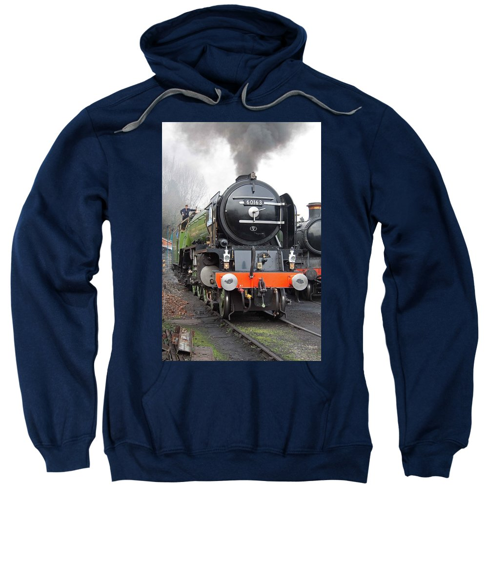 Steam Sweatshirt featuring the photograph Tornado Living Steam by Bob Kemp