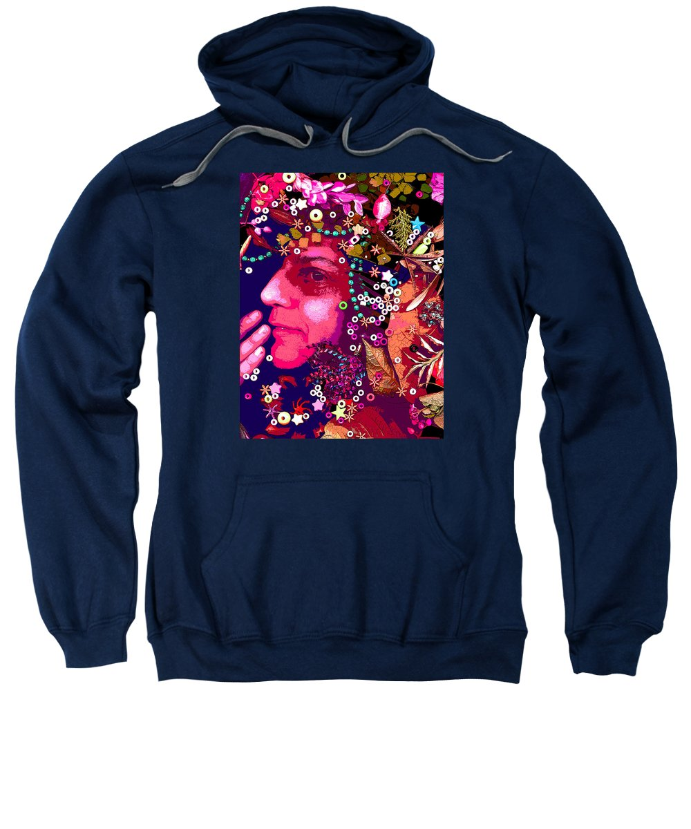 Mother Sweatshirt featuring the digital art torrens Mama by Maria Ason