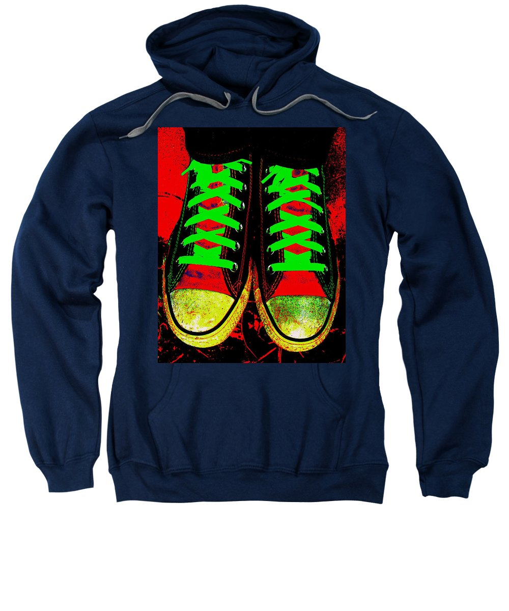 Still Life Sweatshirt featuring the photograph Two Left Feet by Ed Smith