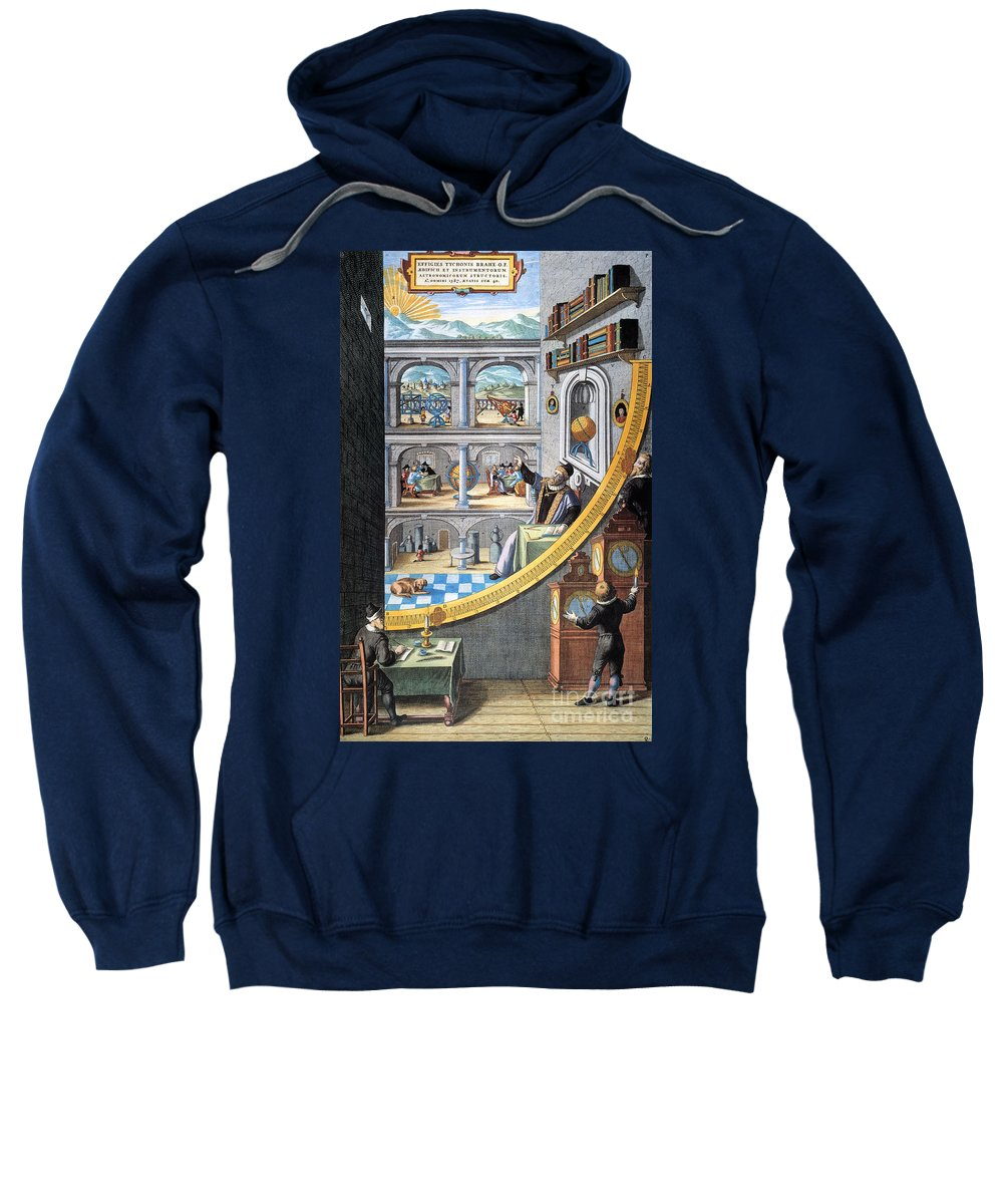16th Century Sweatshirt featuring the photograph Tycho Brahe (1546-1601) by Granger
