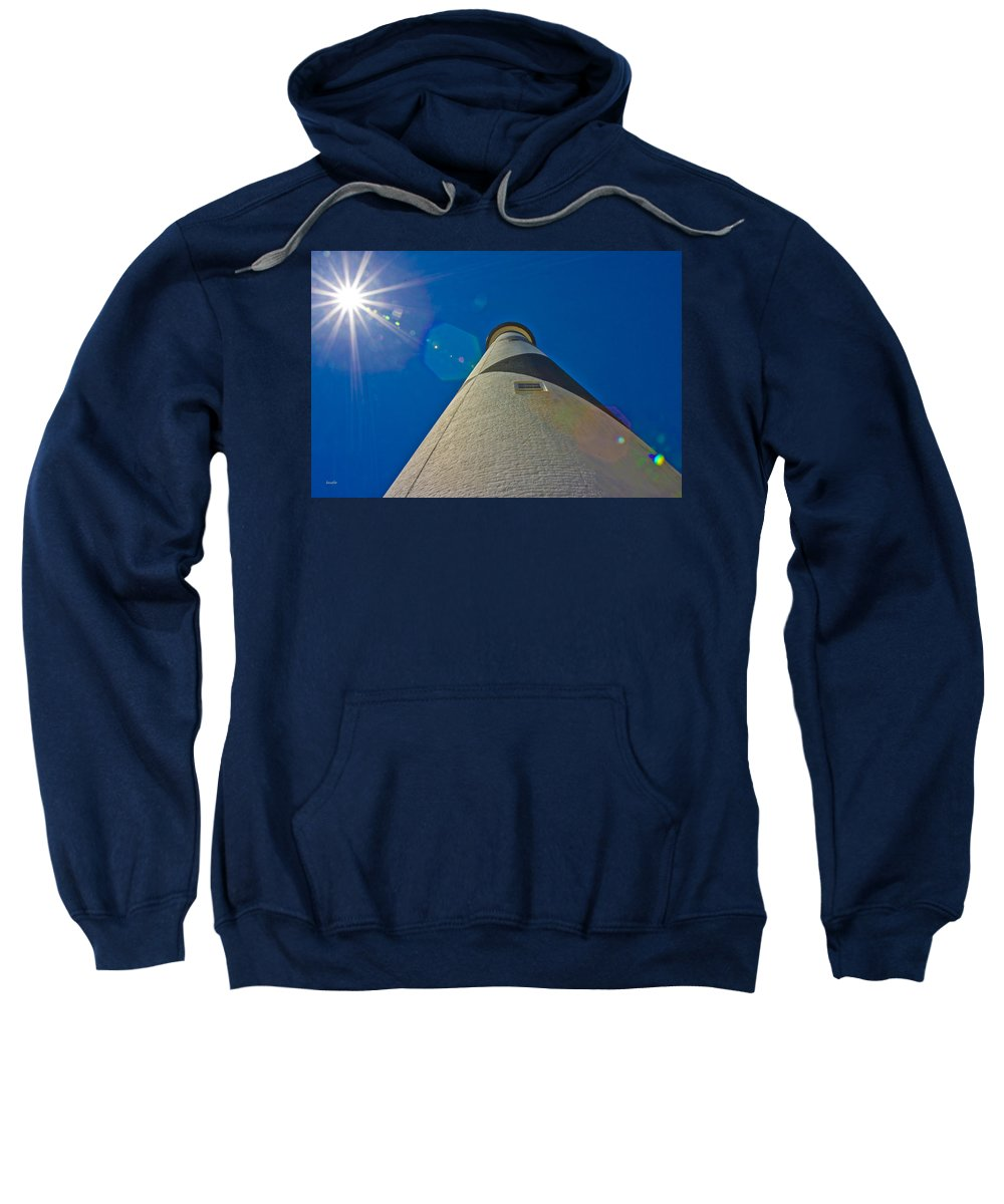Harkers Island Sweatshirt featuring the photograph Up by Betsy Knapp