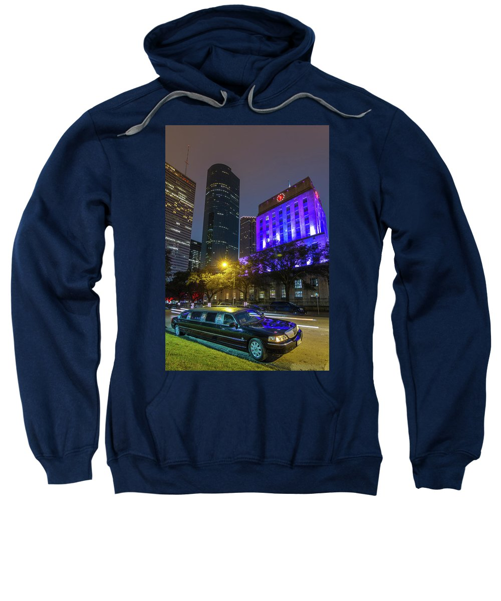 Downtown Sweatshirt featuring the photograph Uptown Downtown by Tim Stanley