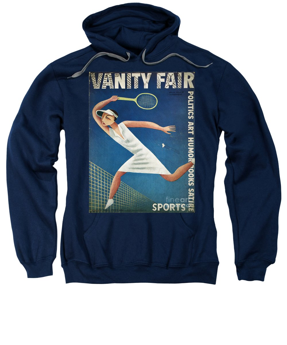 1932 Sweatshirt featuring the photograph Vanity Fair, 1932 by Granger