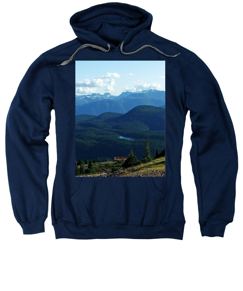 Scinec Sweatshirt featuring the photograph View From Mt. Wahington II by Robert Meanor