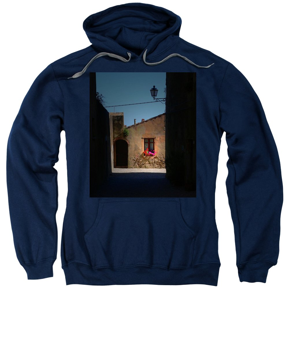 Window Sweatshirt featuring the photograph View Wiith A Window by Angela Wright