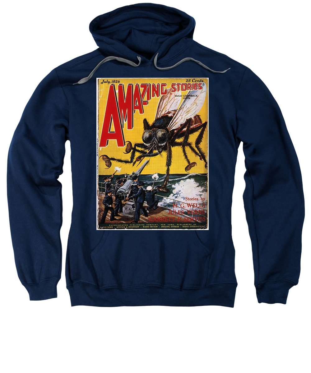 1927 Sweatshirt featuring the photograph War Of The Worlds, 1927 by Granger