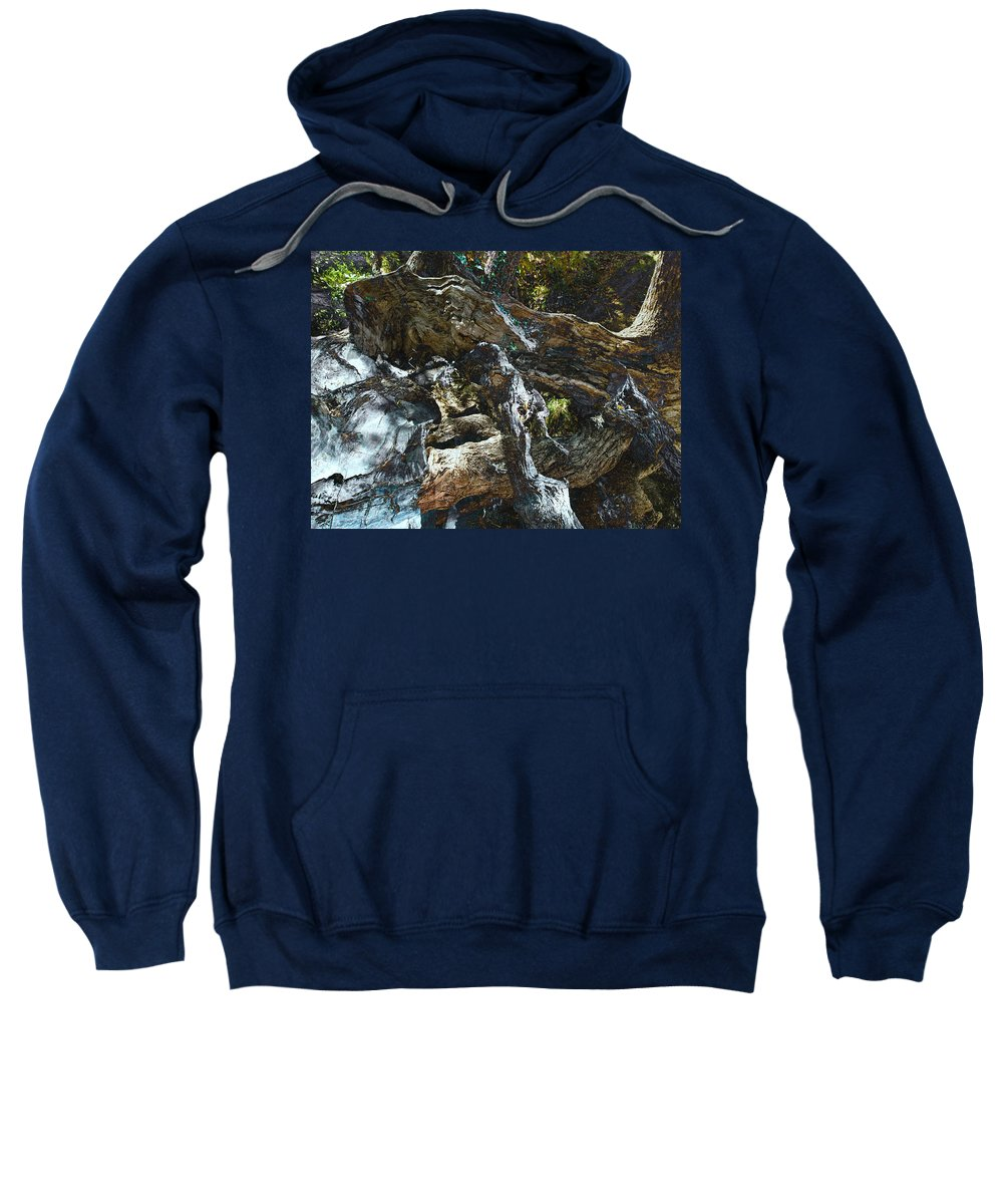 Trees Sweatshirt featuring the photograph Washed Away by Kelly Jade King