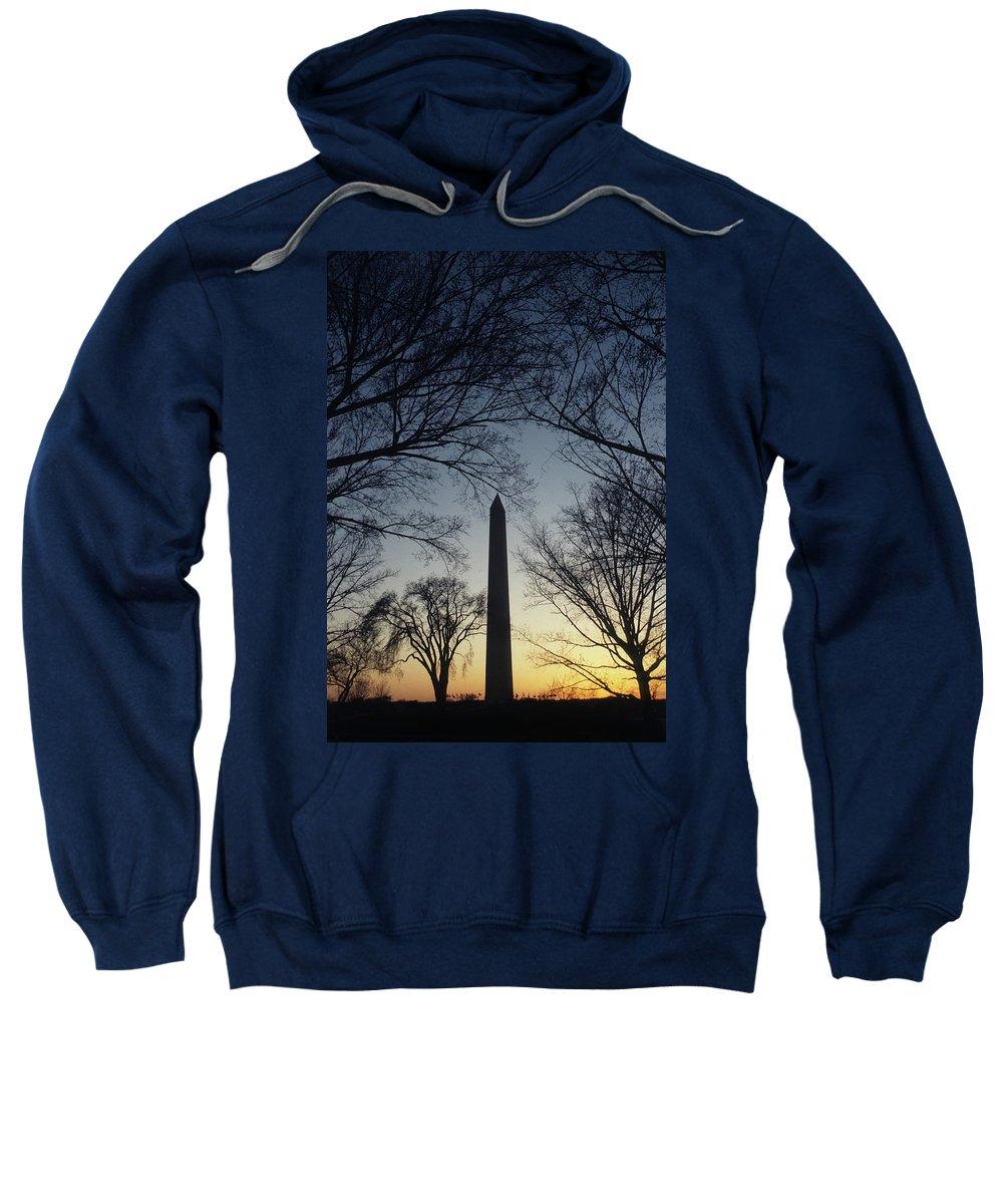 Washington Monument Sweatshirt featuring the photograph Washington Monument by Steve Williams