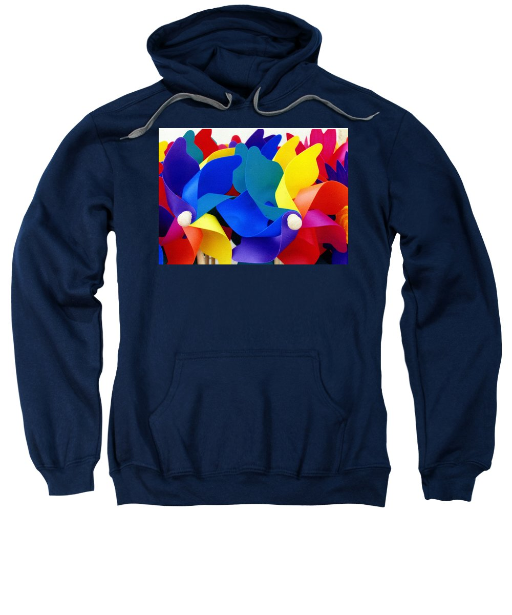 Toy Sweatshirt featuring the photograph What Goes Around by Wayne Potrafka