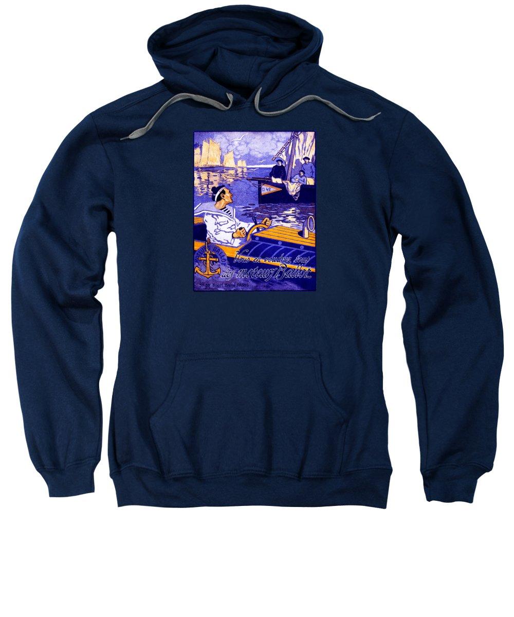 Motor Boats Hooded Sweatshirts T-Shirts