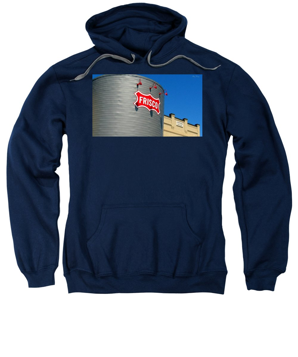 Frisco Sweatshirt featuring the photograph Frisco Museum by Amy Hosp