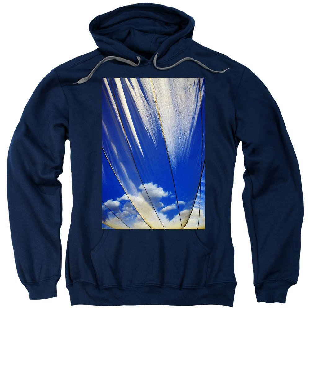 Heavenly Sweatshirt featuring the photograph Heaven by Skip Hunt