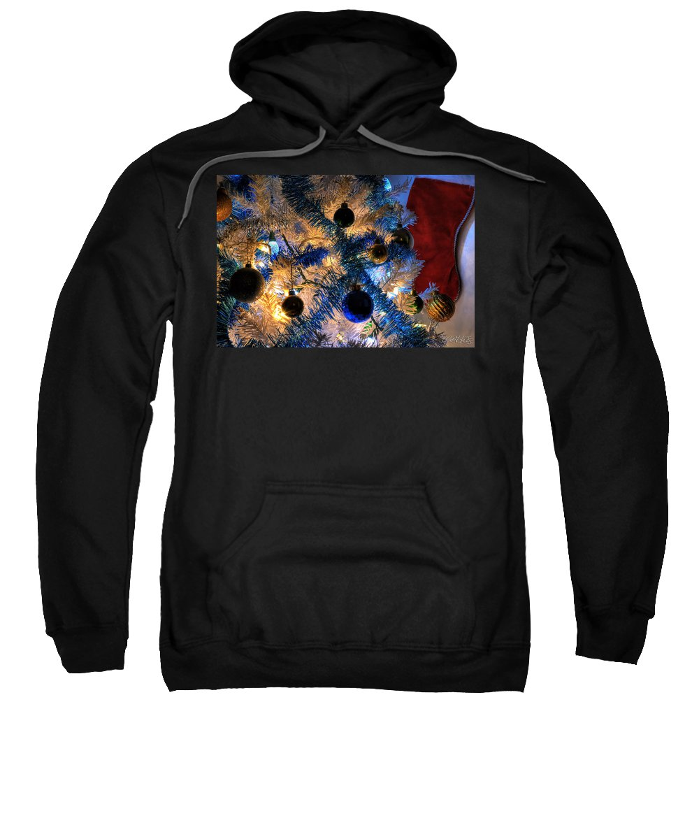 Sweatshirt featuring the photograph 001 Silent Night Series by Michael Frank Jr