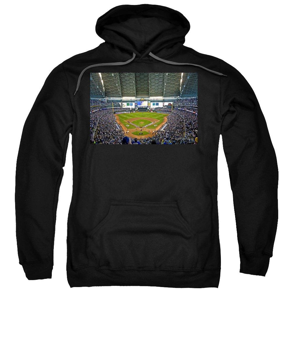 0545 Nlds Miller Park Milwaukee Sweatshirt