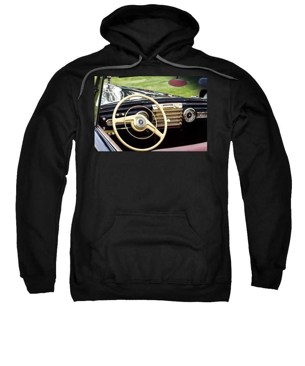 Antique Sweatshirt featuring the photograph 1942 Lincoln by Jack R Perry