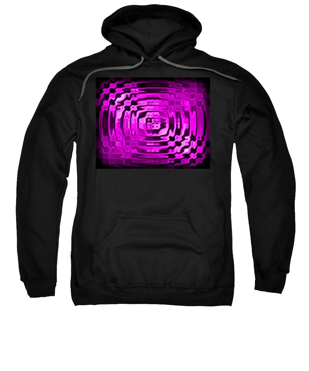 Original Sweatshirt featuring the painting Abstract 134 by J D Owen