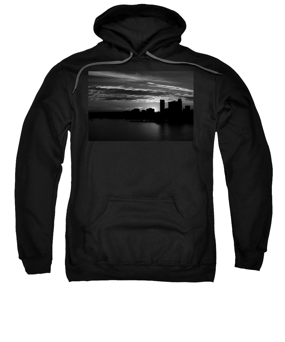 Blumwurks Sweatshirt featuring the photograph And Yet Another Day Closes... by Matthew Blum