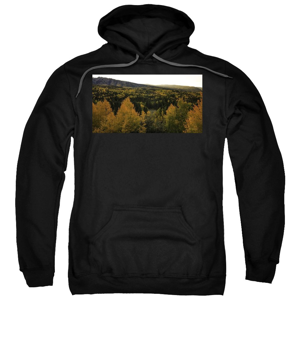Landscape Sweatshirt featuring the photograph Autumn Sunrise by Bill Sherrell