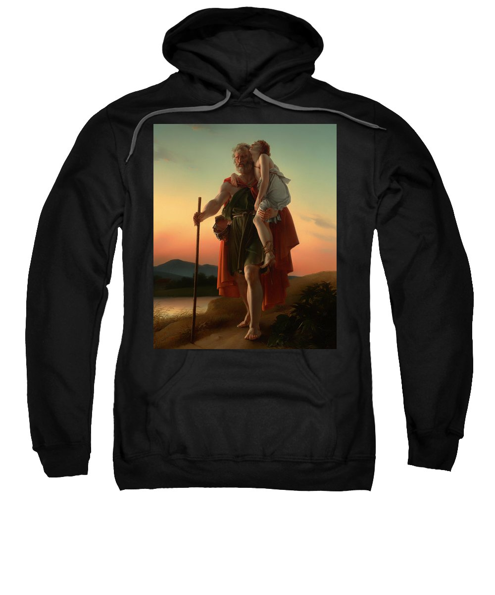 Painting Sweatshirt featuring the painting Belisarius by Mountain Dreams