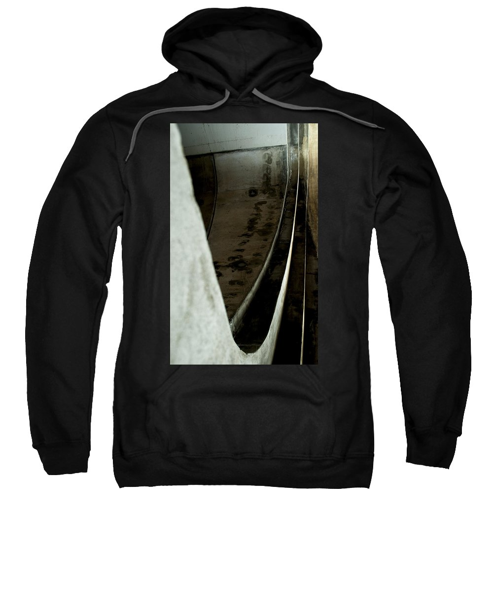 Abstract Sweatshirt featuring the photograph Curves by Fran Riley