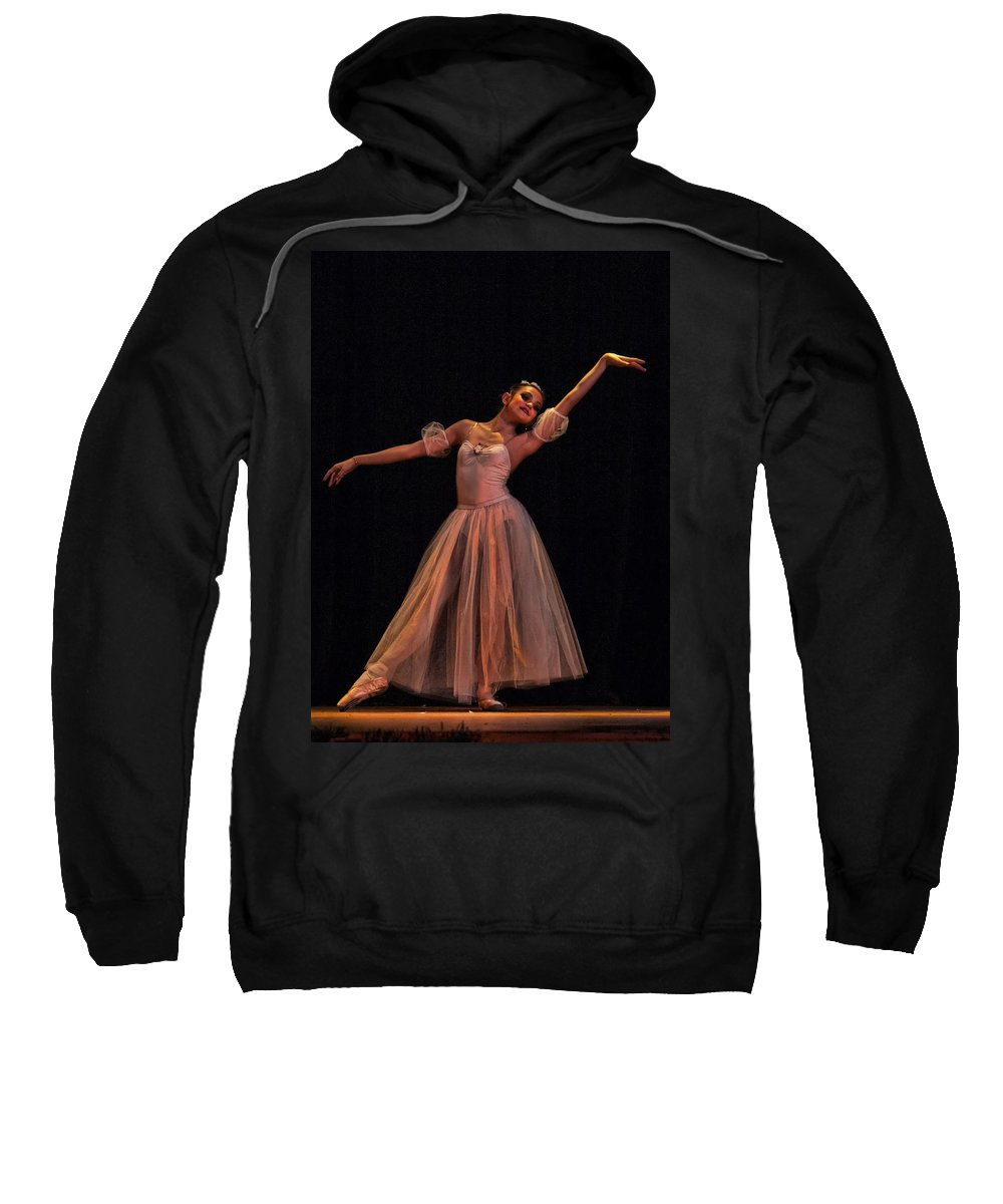 Ballet Sweatshirt featuring the photograph Dreaming by Agustin Uzarraga