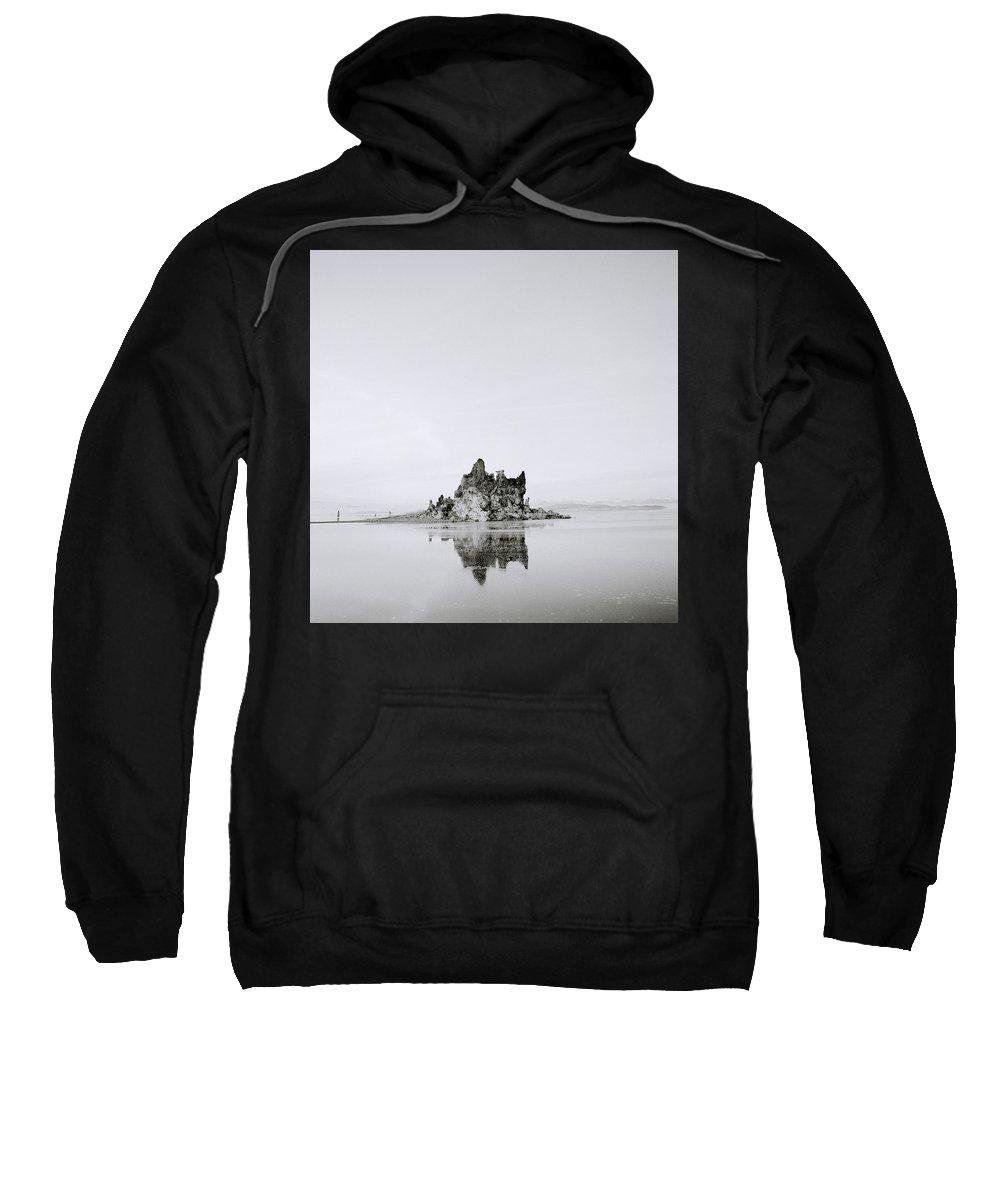 Mono Lake Sweatshirt featuring the photograph Moments Of Stillness by Shaun Higson