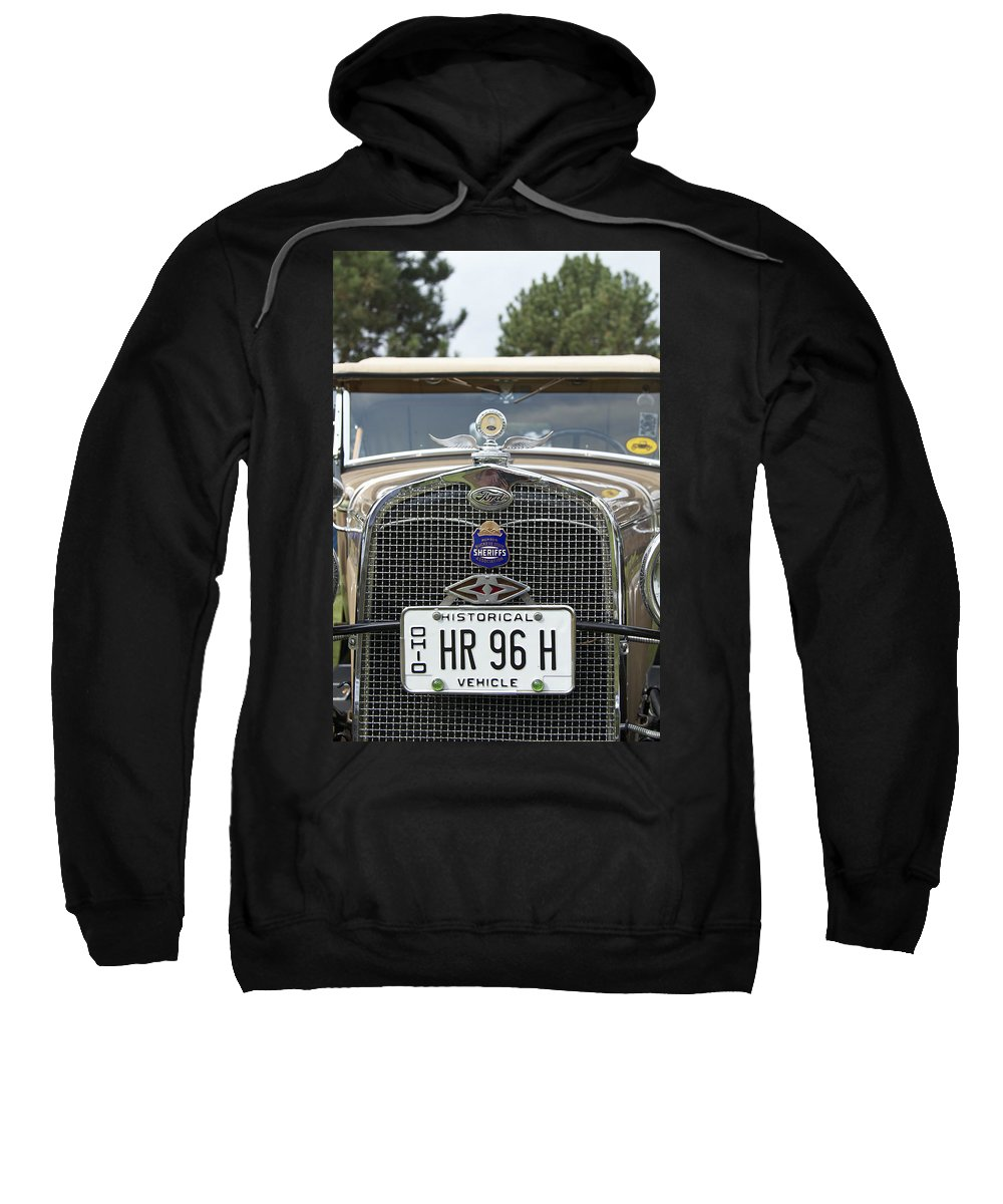 Antique Sweatshirt featuring the photograph Ford by Jack R Perry