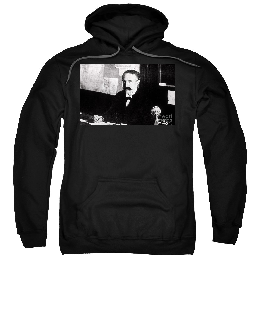 History Sweatshirt featuring the photograph Gifford Pinchot American by NPS Photo