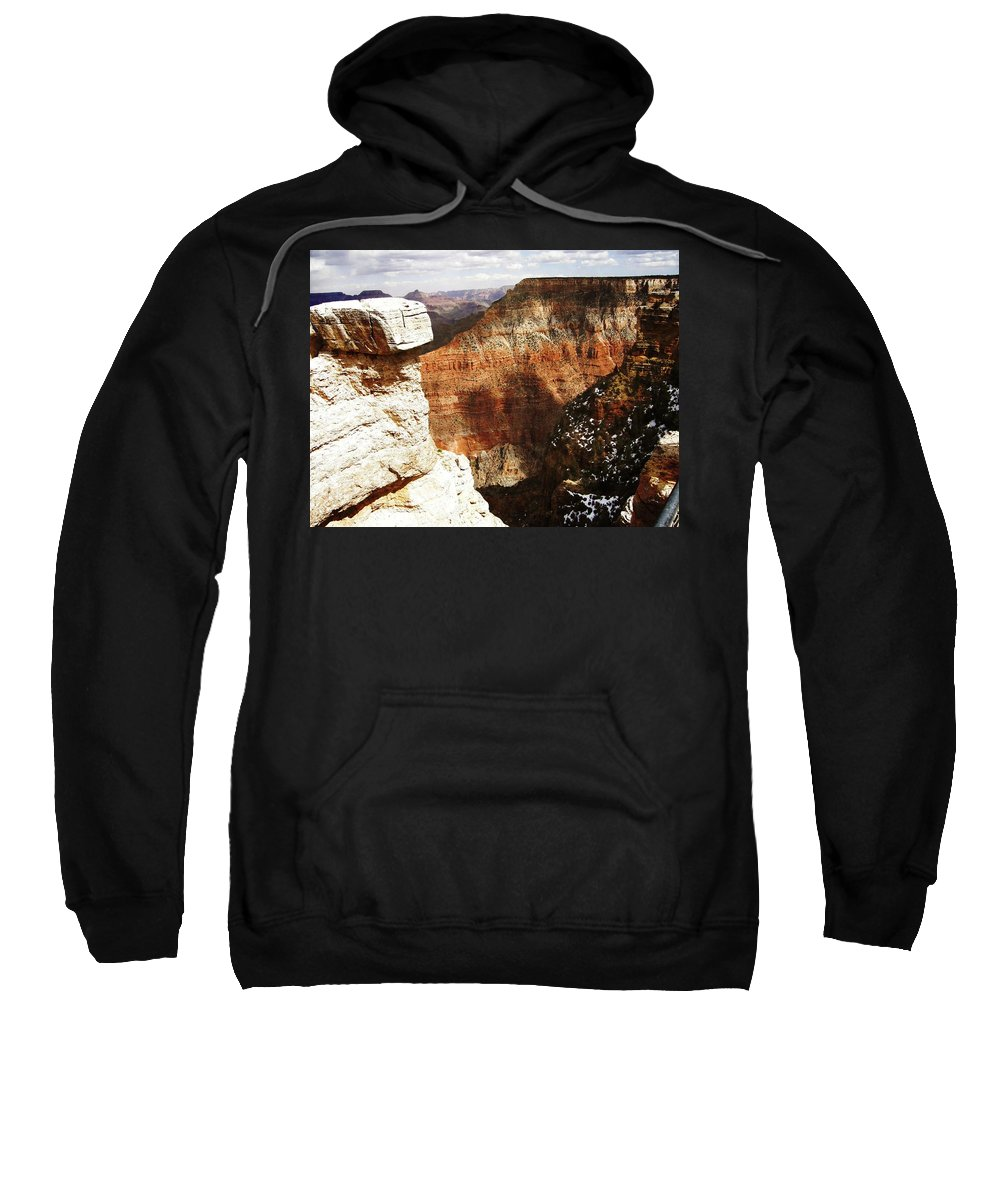 Grand Canyon Sweatshirt featuring the photograph Grand Canyon by Image Takers Photography LLC