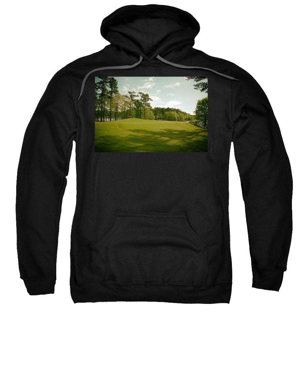 Opelika Sweatshirt featuring the photograph Grand National Golf Course - Opelika Alabama by Mountain Dreams