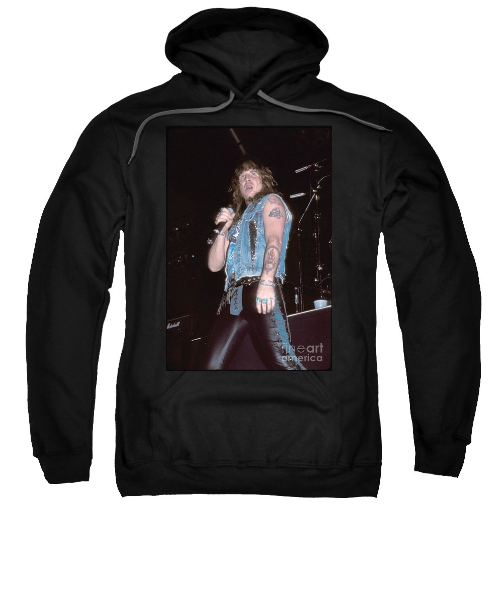 Heavy Metal Sweatshirt featuring the photograph Great White by Concert Photos