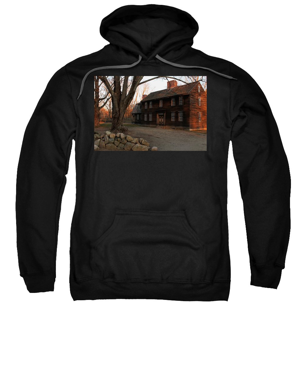 Hartwell Tavern Sweatshirt featuring the photograph Hartwell Tavern 2 by Jeff Heimlich