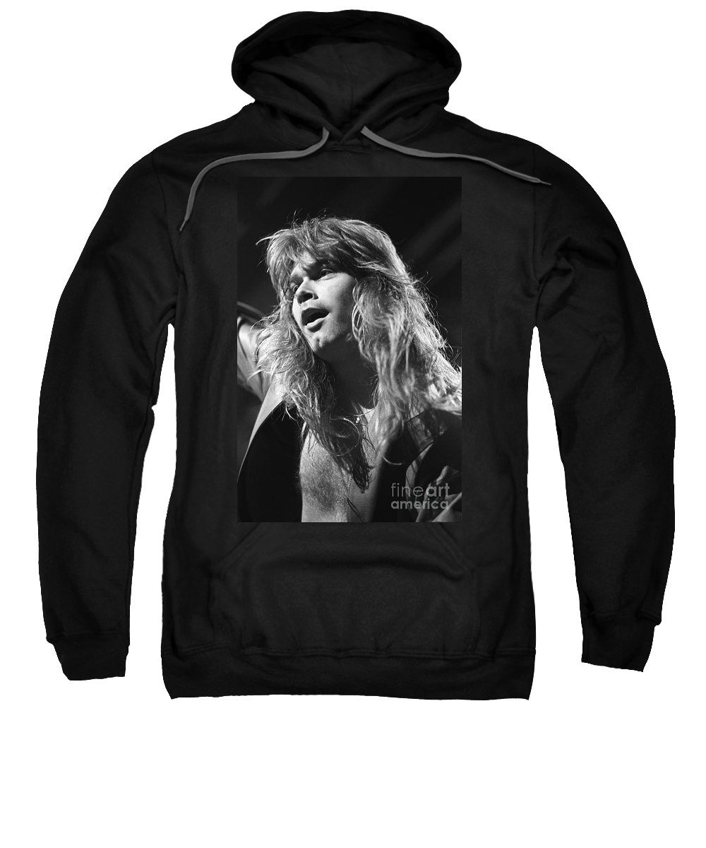 Singer Sweatshirt featuring the photograph Helloween by Concert Photos