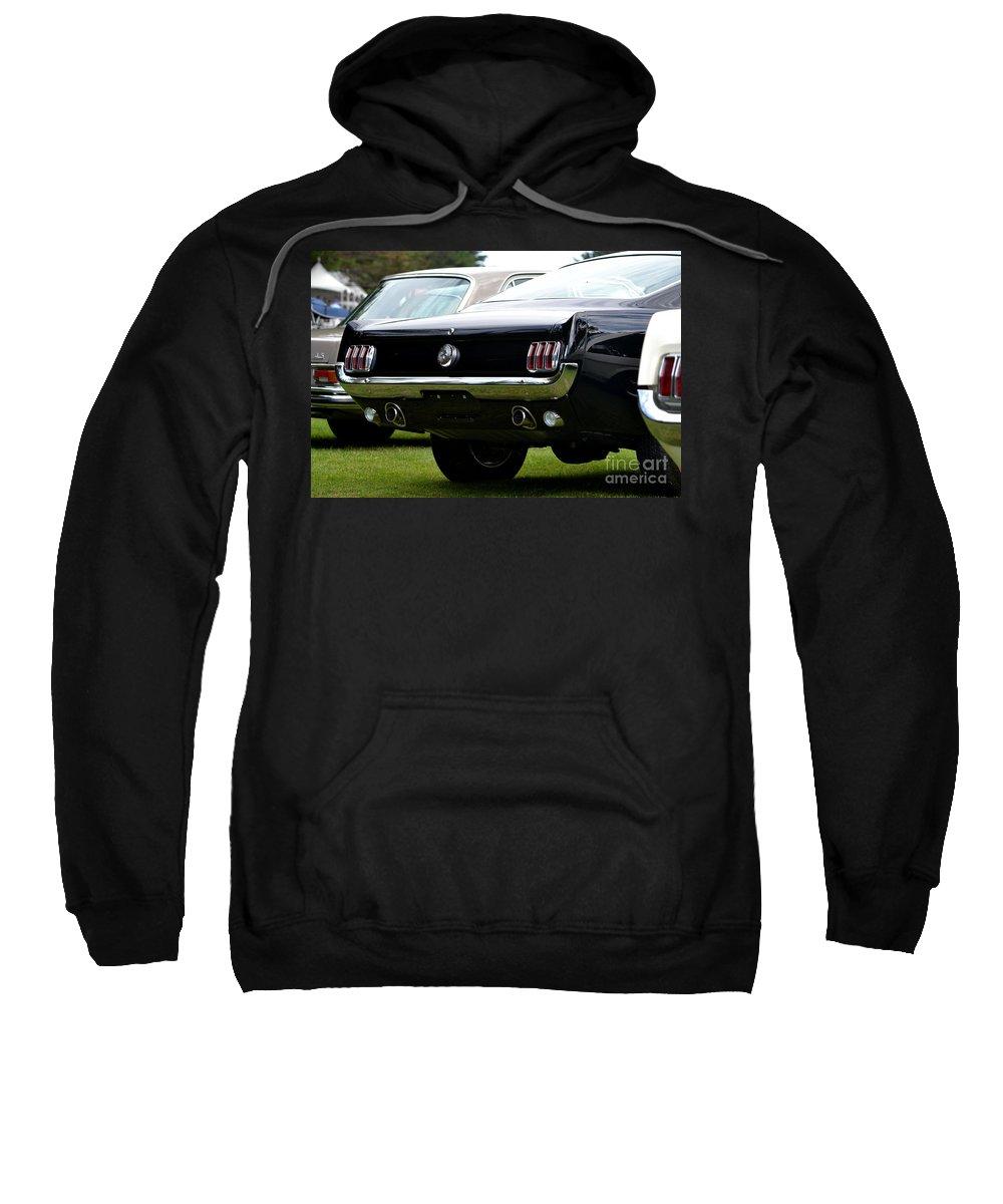 Sweatshirt featuring the photograph Hillsborough Concourse by Dean Ferreira