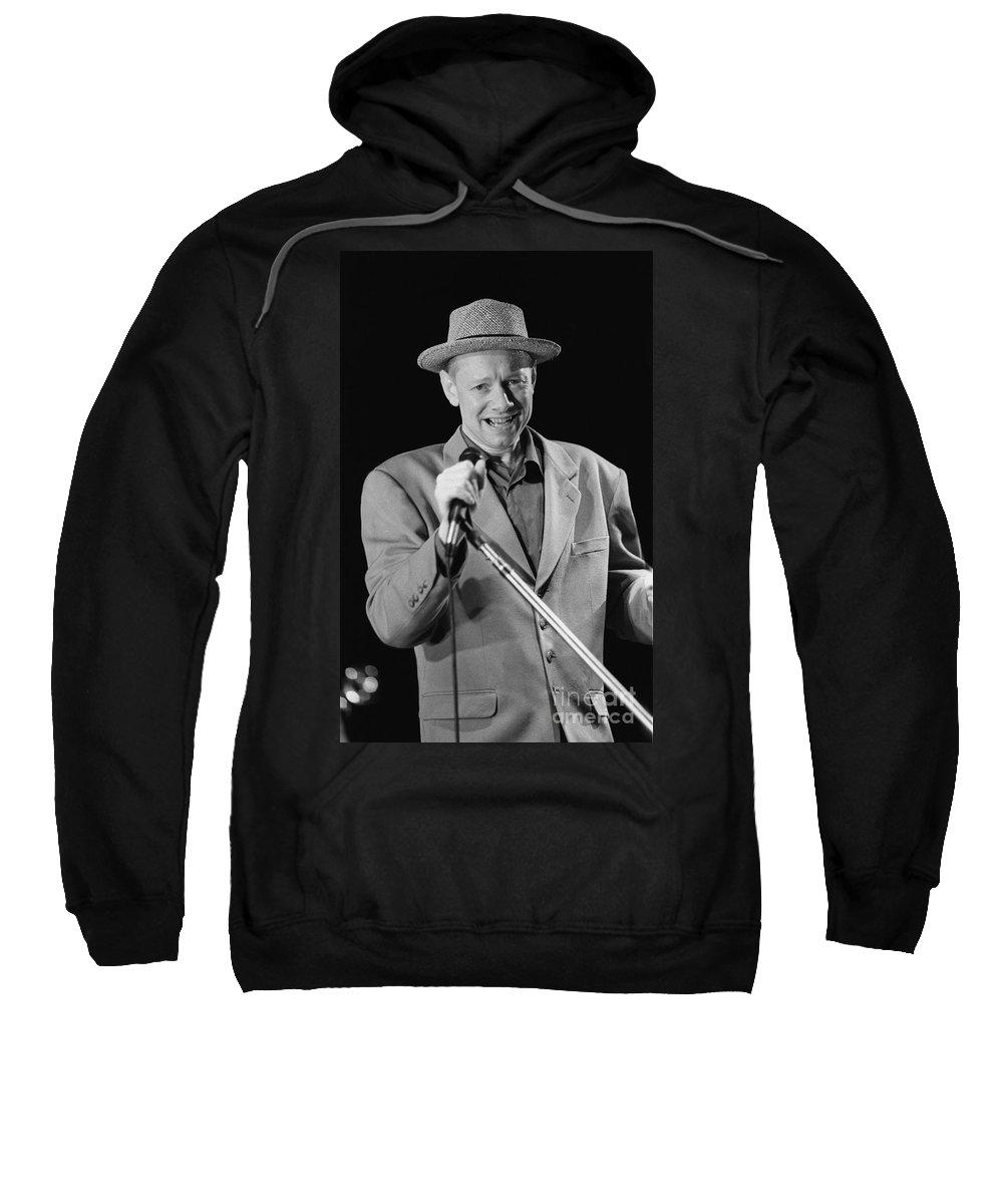 Grammy Nominated Sweatshirt featuring the photograph Joe Jackson by Concert Photos