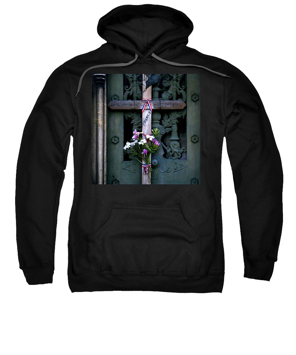 Love Sweatshirt featuring the photograph The French Cross by Shaun Higson