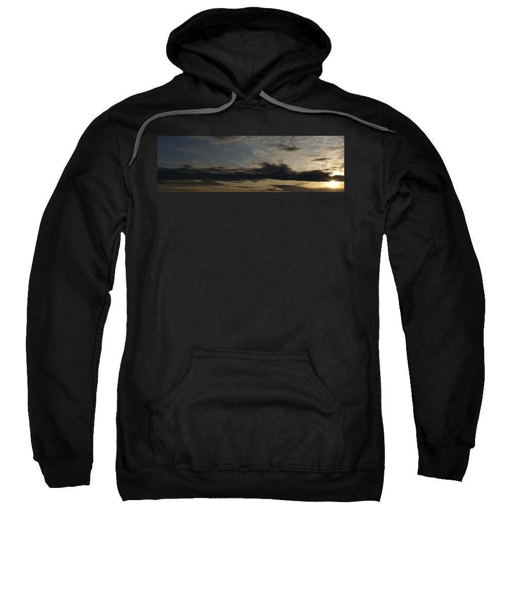 Sky Painting Sweatshirt featuring the photograph Sky Painting by Ed Smith