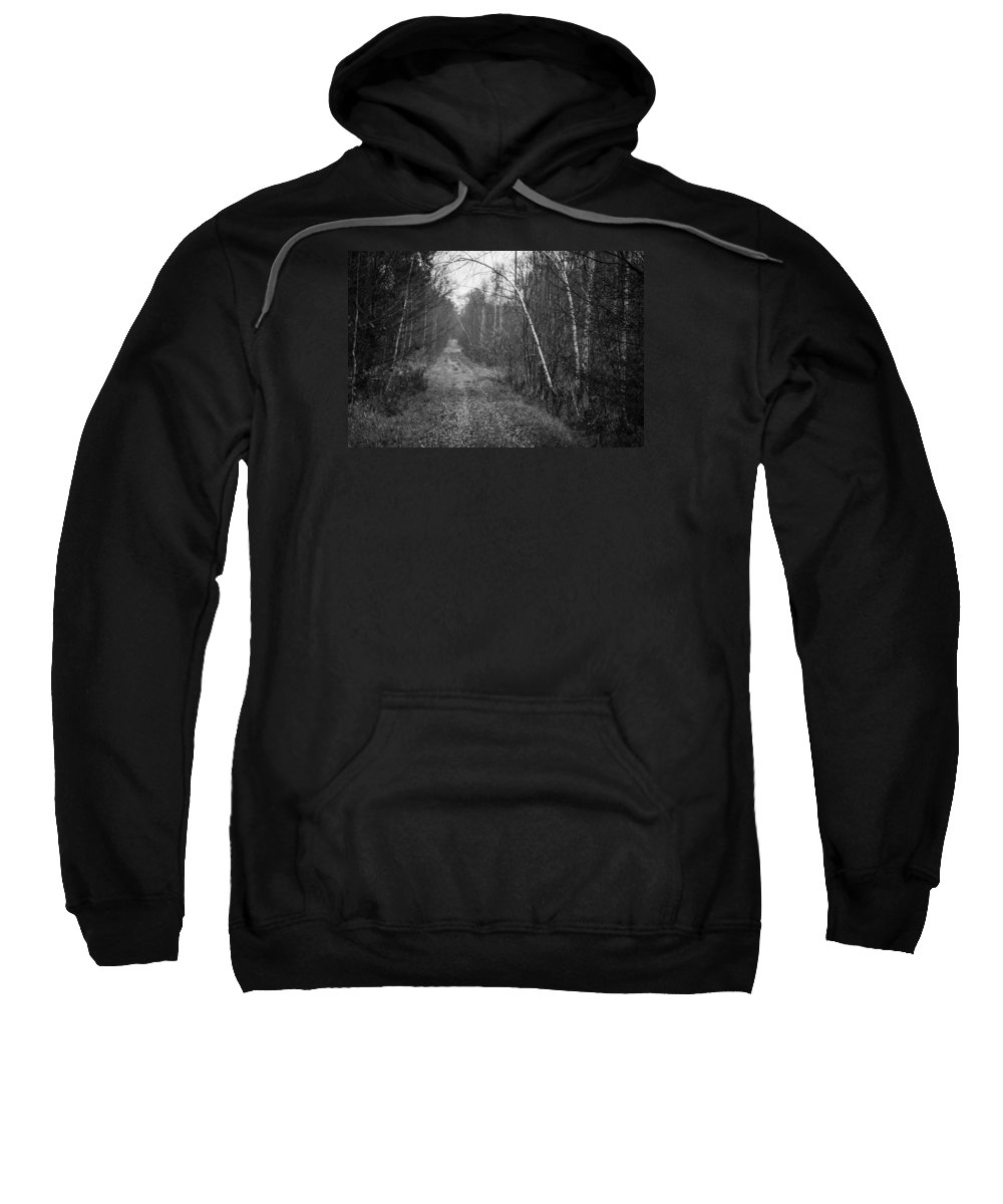 Miguel Sweatshirt featuring the photograph Solitude Forest by Miguel Winterpacht