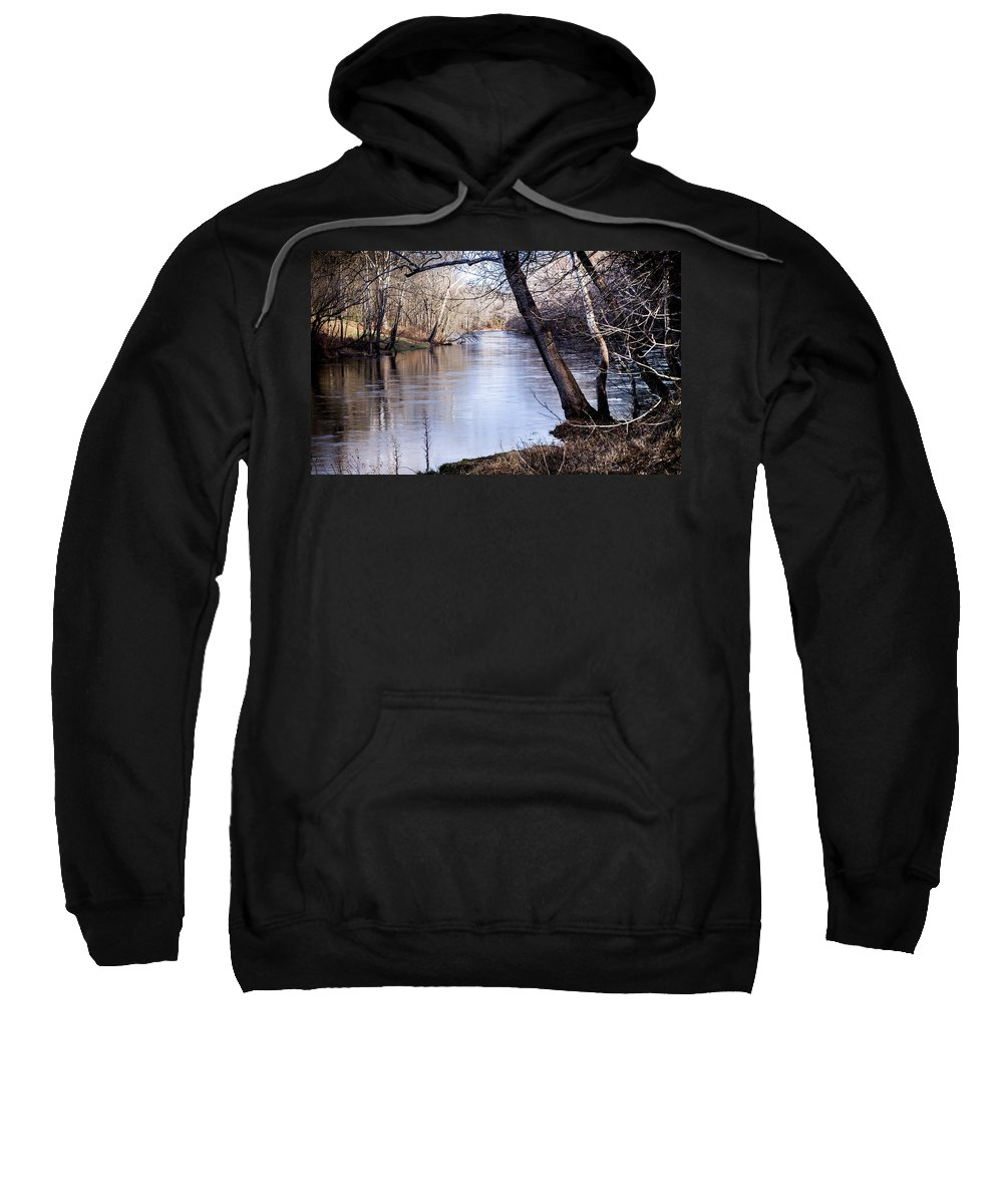 Take Me To The River Sweatshirt featuring the photograph Take Me To The River by Karen Wiles