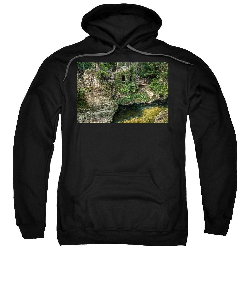 Ireland Sweatshirt featuring the photograph The Hermitage by George Pennock