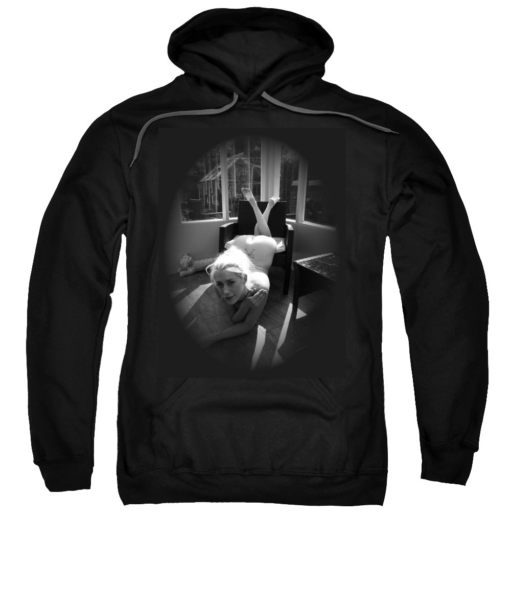 Sweatshirt featuring the photograph Through The Keyhole by Asa Jones
