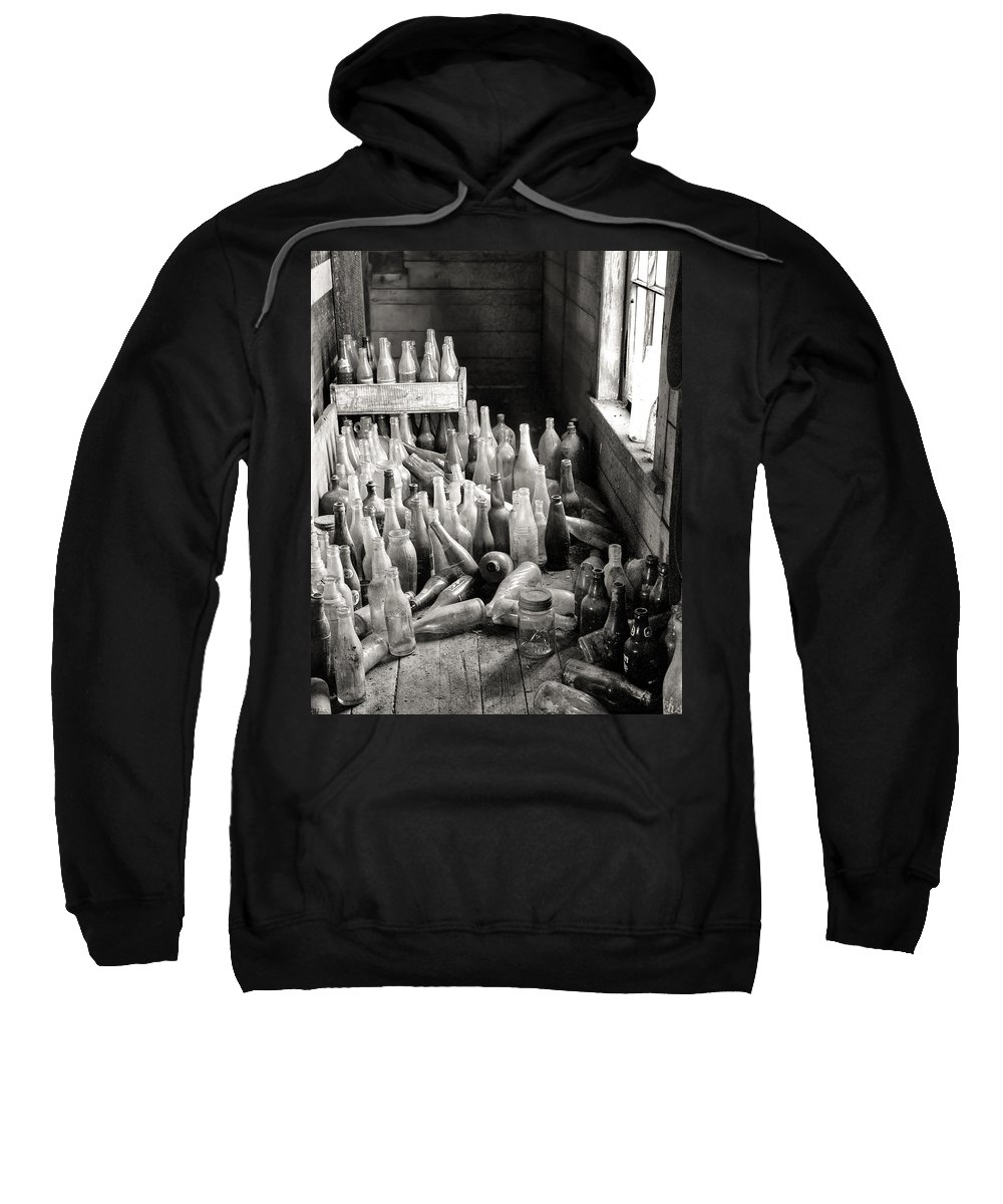 Collection Sweatshirt featuring the photograph Time In A Bottle by William Beuther