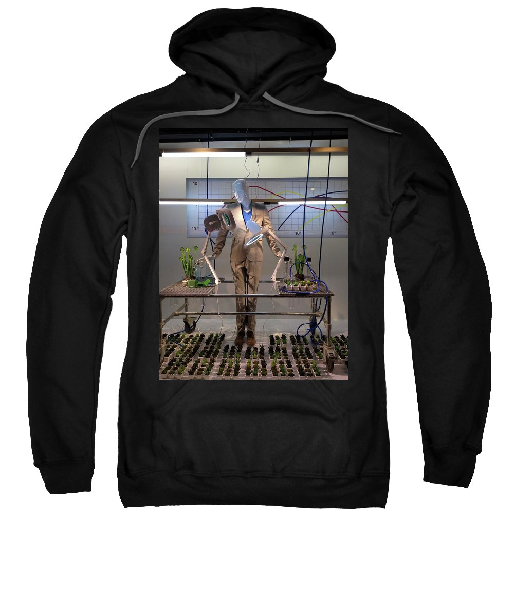 Mark J Dunn Sweatshirt featuring the photograph Window Art by Mark J Dunn