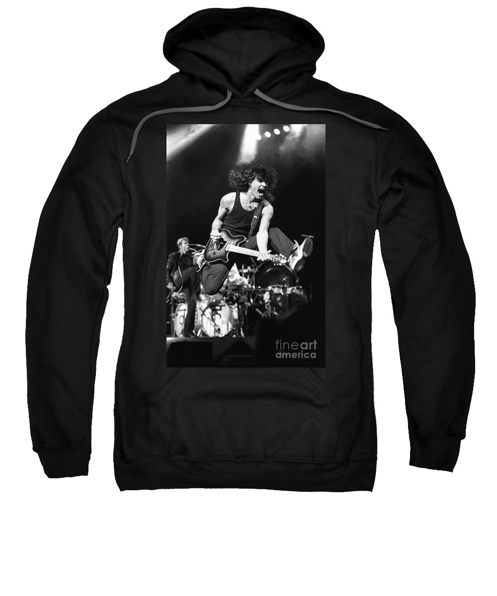 33f1e0be0 Eddie Van Halen Sweatshirt featuring the photograph Van Halen - Eddie Van  Halen by Concert Photos