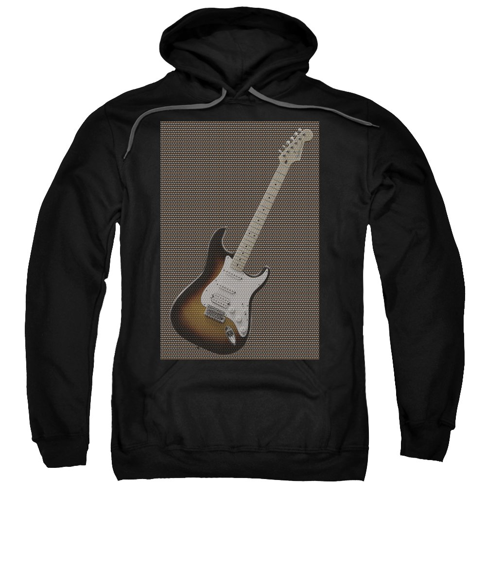 Rock And Roll Sweatshirt featuring the photograph 12 Thousand Electric Guitars by Mike McGlothlen